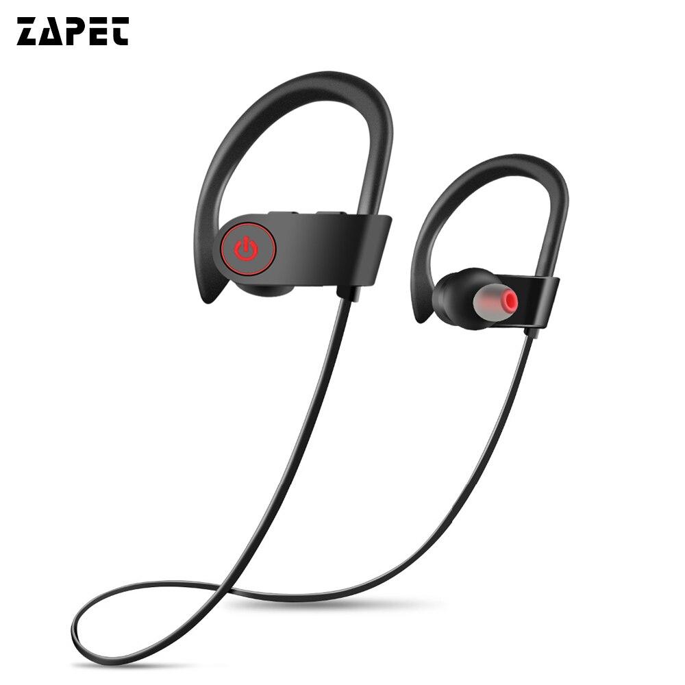 Bass auricular Bluetooth inalámbrico IPX7 impermeable auriculares deportivos corriendo auriculares con micrófono para iphone xiaomi Smartphone