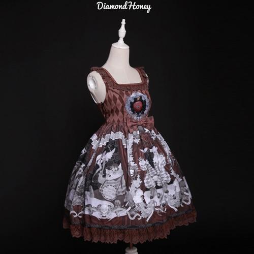 をbizarrerie〜ゴシックロリータドレスヴィンテージ短いドレスによるダイヤモンド蜂蜜  グループ上の ノベルティ & 特殊用途 からの ロリータドレス の中 2