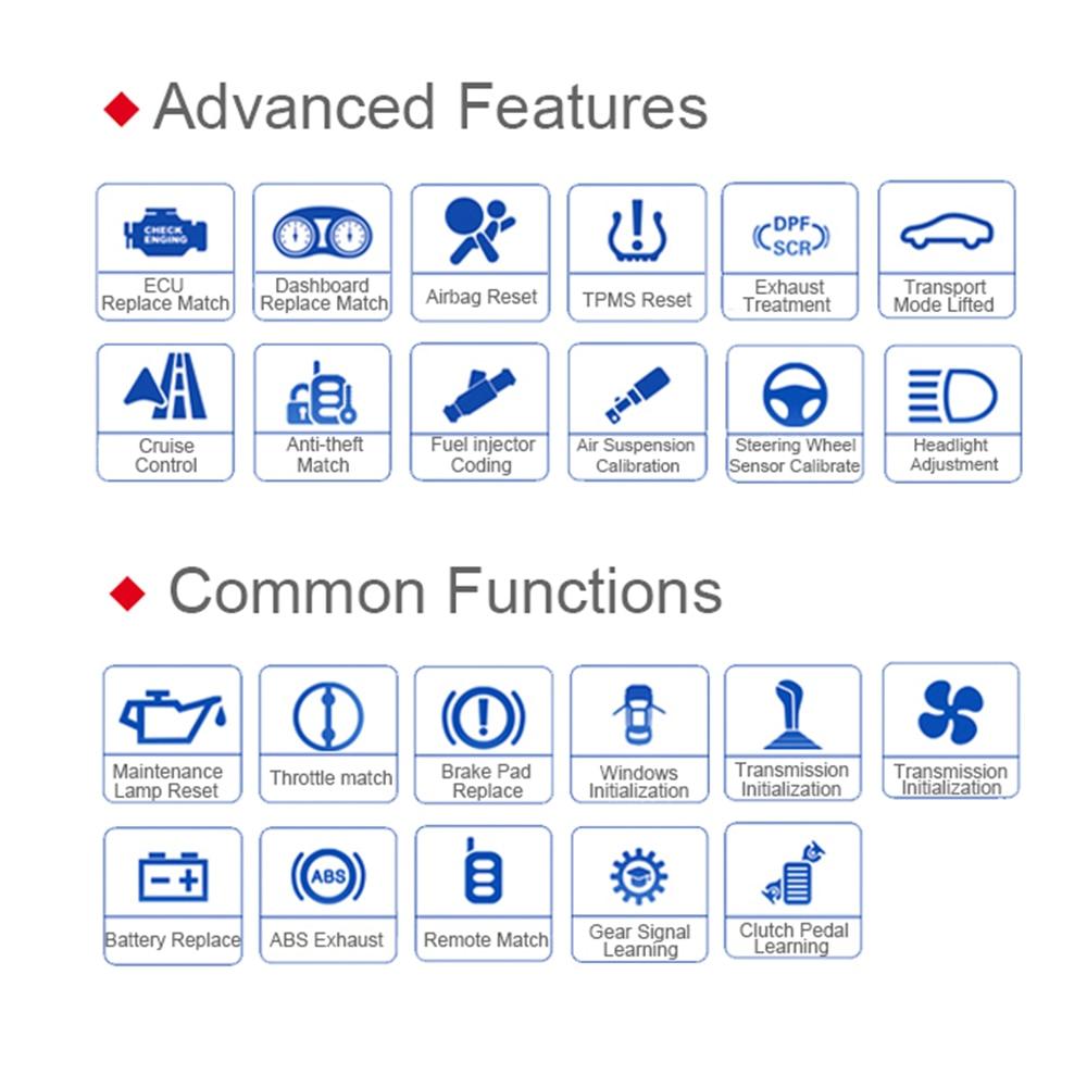 Pro Level Car Diagnostic Tool Autel Maxidas DS808K Swift Diagnosis