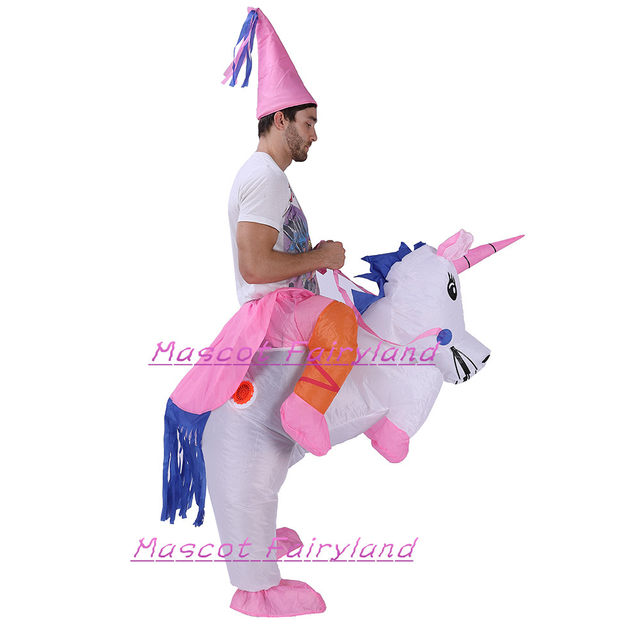 0cac697ba33b4 Online Shop Hot Sell Unicorn Rider Inflatable Costume for Adults ...