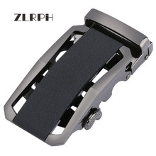 купить ZLRPH Famous Brand Belt Buckle Men Top Quality Luxury Belts Buckle for Men 3.5 cm Strap Male Metal Automatic Buckle по цене 1009.43 рублей