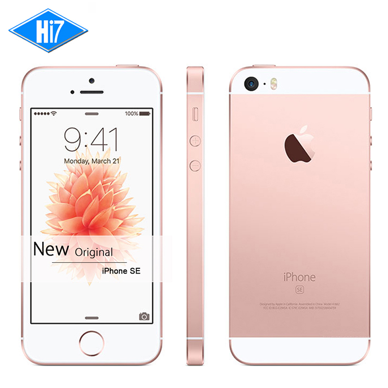 New Original Apple iPhone SE Unlocked 4G LTE Mobile Phone 2GB RAM 32GB ROM 4.0″ Chip A9 iOS 9.3 Dual core Fingerprint iphonese