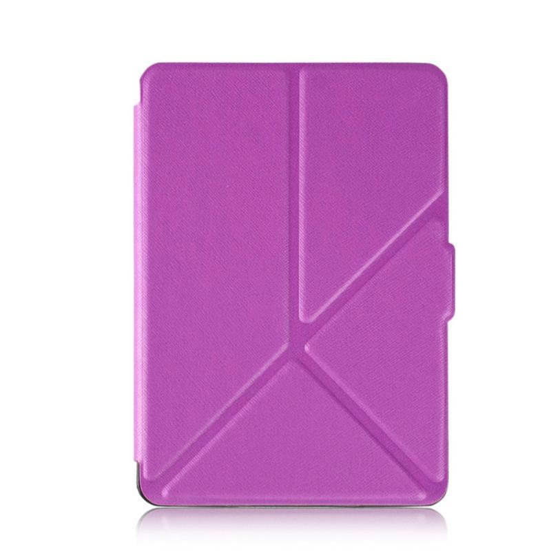BMF TELOTUNY moda Magnetic Auto Sleep Funda de cuero PU para Paperwhite Kindle (7th generación) 6 pulgadas + regalo Mar22