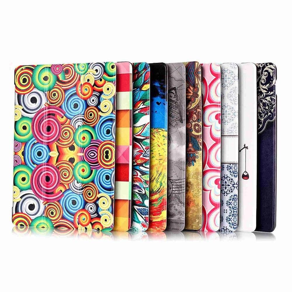 Декоративный случай, превосходное качество PU кожаный чехол Стенд складной Защитная крышка с [Услуга/сна Функция] для iPad Mini 4