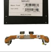 Оригинальная деталь DJI Mavic Pro, передние визуальные компоненты, функция зрения препятствий, запасная деталь для радиоуправляемого дрона