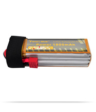 You&me 14.8V 1800MAH 25C MAX 50C AKKU LiPo RC Battery For rc Helicopter quadcopter