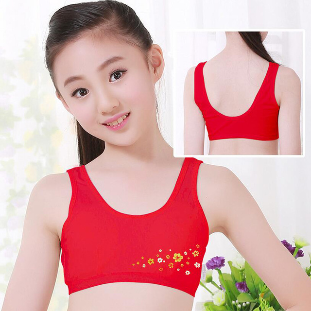 New Red Fashion Sweet Undies Training Bras Camisoles