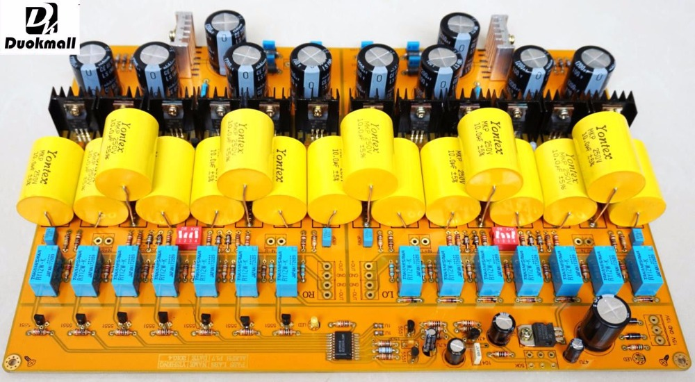 все цены на PASS 1.7 Fully Balanced XLR Preamp Audio HiFi Pre-Amplifier Assembled Board
