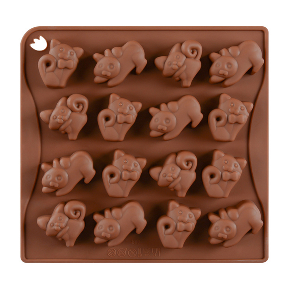 Kitchen,dining & Bar Baking & Pastry Tools Silicone Building Mold For Cake Cookie Candy Chocolate Ice Cube Tray Cooking Baking Tool Gadget Accessories Supplies