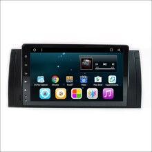 """9 """"Octa cores Android 6.0 Coches Reproductor de DVD Para BMW E39 X5 estéreo para E53 M5 E38 Radio de Coche Navegación GPS Bluetooth 4G wifi"""