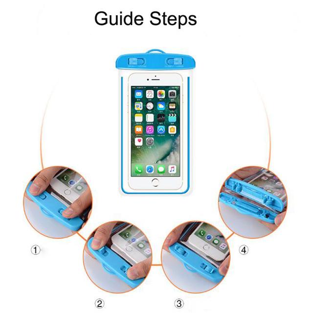 Waterproof Transparent Phone Cover