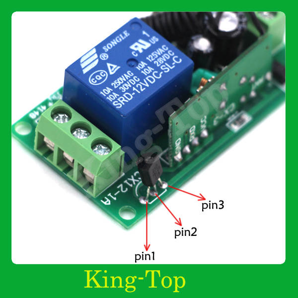 16 Channel Relay RF digital wireless remote control switch 1 transmitter 16  receiver 12v light switch 315/433 MHZ Fixed code