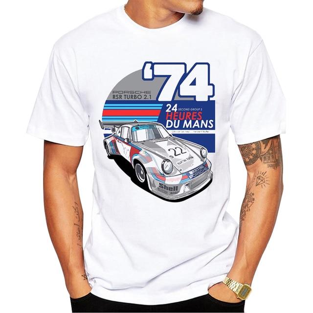 2017 sommer Männer t shirt Mode Retro Cool Auto Design Kurzarm ...