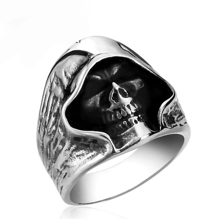Creative Personality Cute Hollow Skeleton Ring Rock Style Special Party Jewelry Holiday Gifts Rings