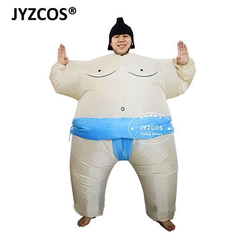 JYZCOS Purim Aufblasbare Sumo Kostüm Anzüge Wrestler Halloween ...