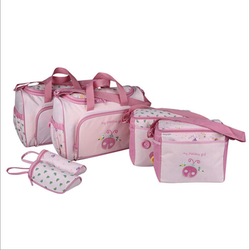 4PCS/Set High Quality Tote Baby Shoulder Diaper Bags Durable Nappy Bag Mummy Mother Baby Bag Mummy Maternity Nappy Bag