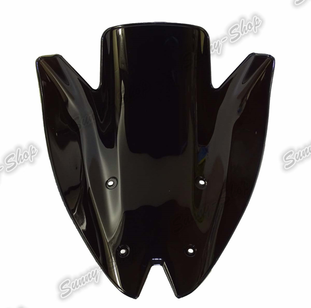 Motorcycle Double Bubble Windscreen Windshield Shield Screen For Kawasaki Z1000 2010 2011 2012 2013