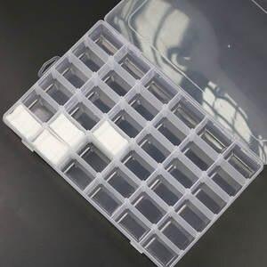 Storage-Box Card-Holder Floss-Organizer Sewing-Tools Thread Plastic Bobbins Spool