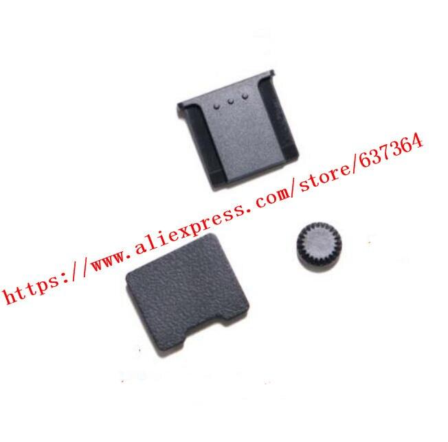 Nouveau XT2 Hot chaussure hotchaussure couverture bas caoutchouc Base bloc batterie poignée Flash couvercle porte pour FUJI X-T2 caméra pièce de réparation
