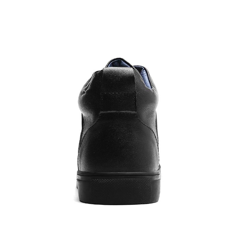 Black 2018 Xx Véritable 331 Mode Occasionnels Bottes Garder Chaude D'hiver Au black Chaud Fur Haute Hommes Hiver De Nouvelle En Chaussures Travail Cuir Qualité qqrHRC1