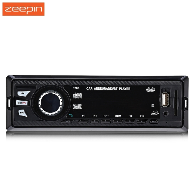 8288 Bluetooth Car Stereo Audio In-Dash FM Aux Input Receiver SD USB MP3 Radio Player Support for Universal car