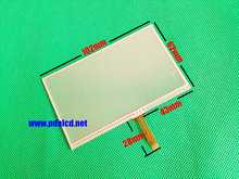 10pcs/lot New 4.3-inch 102mm*62mm Touch screen panels for AT043TN24 V.7, GPS navigator,102*62mm Touch Screen Digitizer Panel