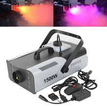 1500W Nebel RGB 3in1 8 LED DJ Bühne Rauch Maschine Mit Wireless Remote(China)