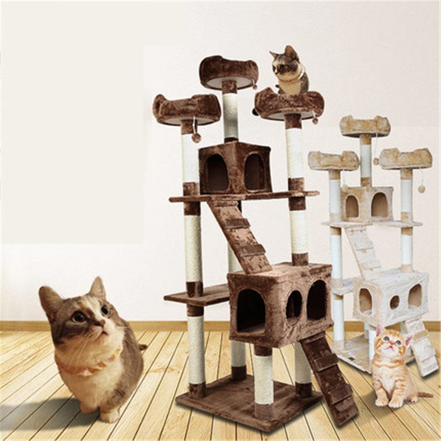 Creative And Funny Pet Cat Scratching Trees Toys