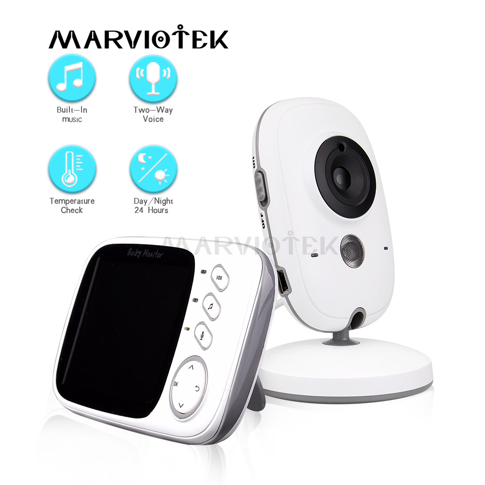 3.2 inch Baby Monitor Wireless Video Color High Resolution Baby Security Camera Night Vision Temperature Monitoring Mini Camera3.2 inch Baby Monitor Wireless Video Color High Resolution Baby Security Camera Night Vision Temperature Monitoring Mini Camera