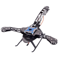 High Quality HJ Y3 Carbon Fiber Tricopter Three Axis Multicopter Frame Compatible With MWC KK Rabbit