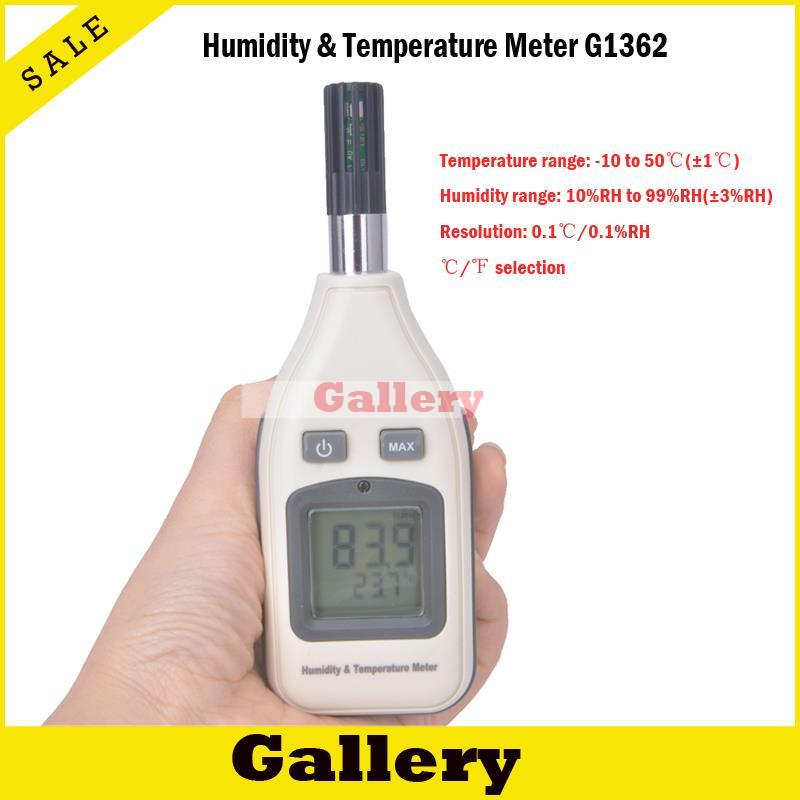 Termometro Digital Thermometer Top Fashion New Indoor for Thermostat Thermal Camera Humidity \u0026 Temperature Meter Gm1362