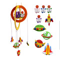 DIY EVA Craft Handmade Windchime + Cardboard Craft Toy Kits Windbell Hangings EVA Stickers Educational Toys