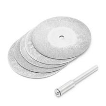 5 шт./лот, аксессуары для Dremel, алмазная шлифовальная пила, циркулярный режущий диск, Dremel, роторный инструмент, алмазные диски