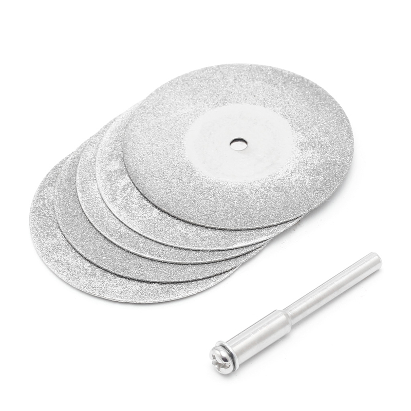 5pcs/lot Dremel Accessories Diamond Grinding Wheel Saw Circular Cutting Disc Dremel Rotary Tool Diamond Discs