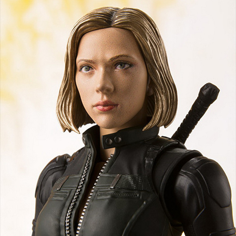 2019 NEW Movie Avenger Endgame Black Widow Cartoon Toy Action Figure Model Doll Gift 15 CM  Natasha Romanoff  Figure Model Toy