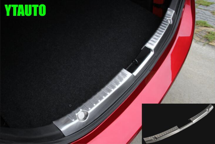 Buy Auto Rear Interior Bumper Protector Trim For Mazda 3 2014 2015 Sedan