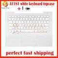 90% a1181 teclado blanco teclado con topcase topcase para macbook 13.3 ''a1181 cubierta superior 2006 2007 2008 2009 año