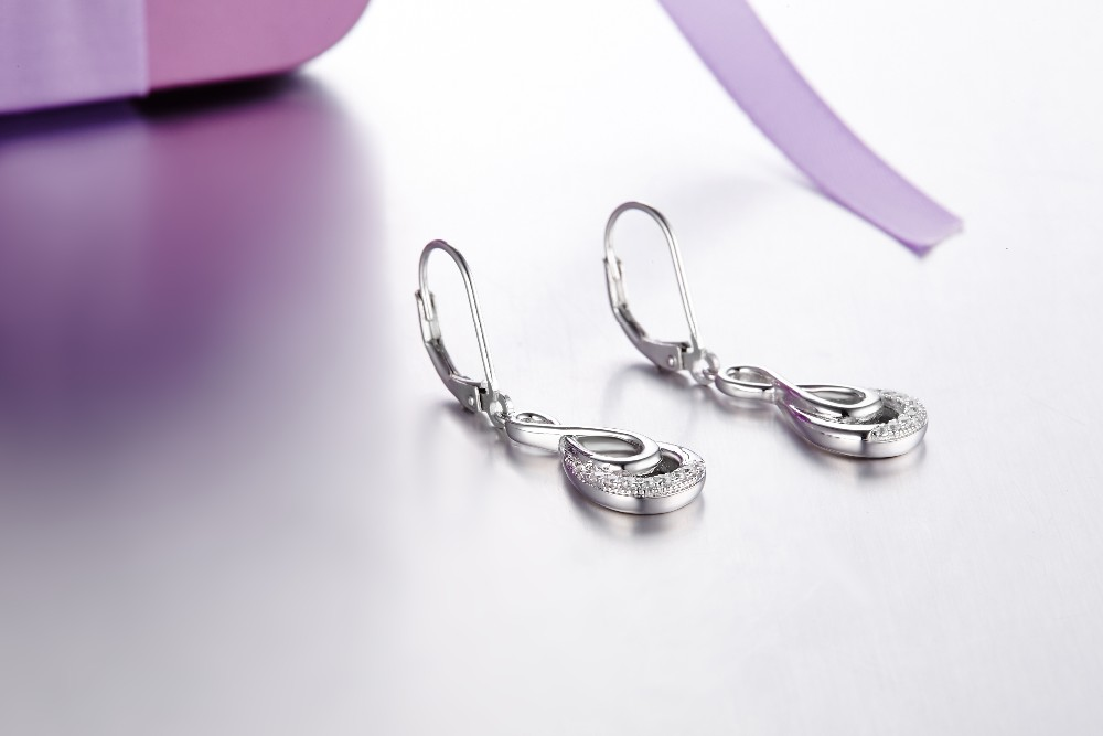 Real-925-Sterling-Silver-dangle-earring-for-women-Engagement-CZ-Diamond-for-Women-Wedding-Jewelry-making-100% (20)
