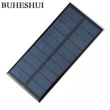 BUHESHUI 5V 1.5W 300MA Mini Solar Panels Solar Power 3.6V Battery Charge Solar Cell 150*69*3MM 10pcs Wholesale Free Shipping