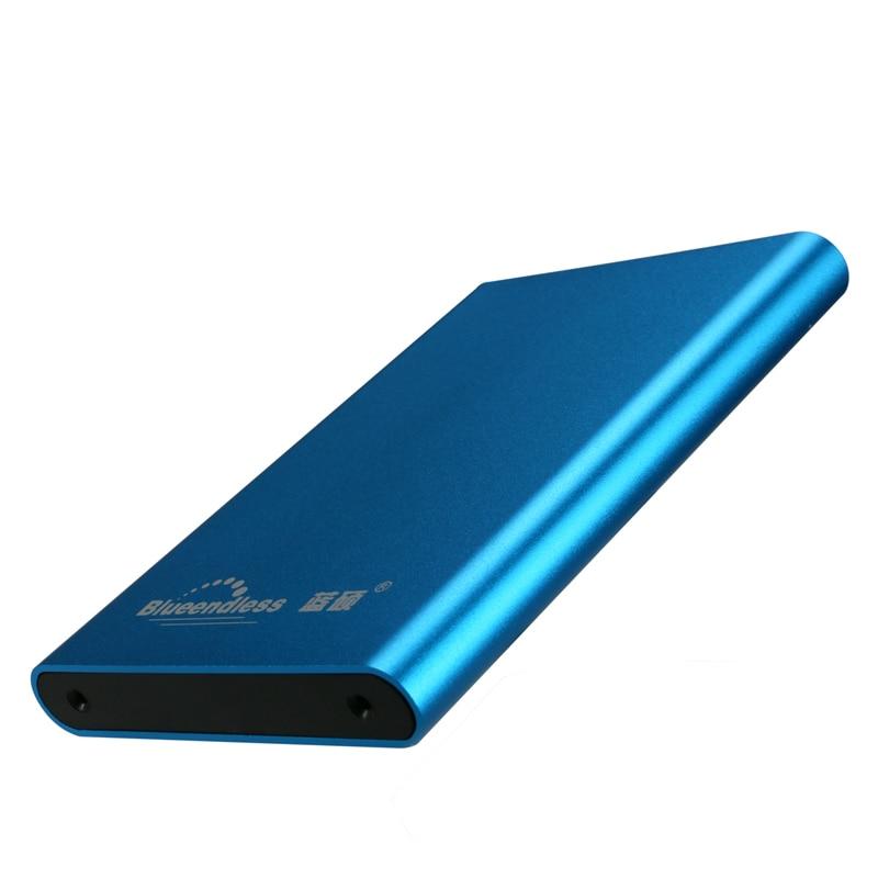 Sata Hdd Enclosure Usb 3.0 Hdd Case Aluminum Hdd Caddy 2.5 Hard Drive Disc External Case High Speed Sata Hddbox For 1TB Capacity