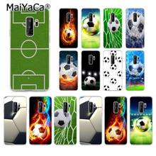 Чехол для телефона MaiYaCa Soccer Estadio для футбольного поля для samsung Galaxy S9 plus S7 edge S6 S10 Lite S10Plus S10E S8 plus(China)