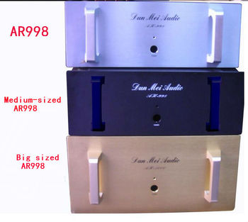Big size AR998 Pure post stage  amplifier chassis with External radiator 480 * 480*180mm