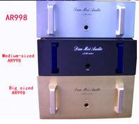 Duży rozmiar AR998 Pure post stage wzmacniacz podwozie z zewnętrznym grzejnikiem 480*480*180mm w Wzmacniacz od Elektronika użytkowa na