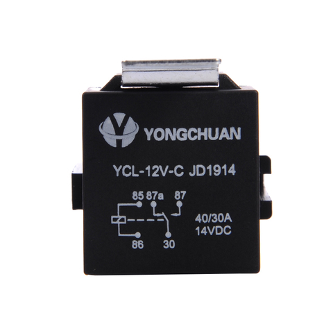 1 Piece 12V 30/40 A 5 Pin 5P Automotive Harness New Arrival High-quality Car Auto Relay Socket 5 Wire Karachi