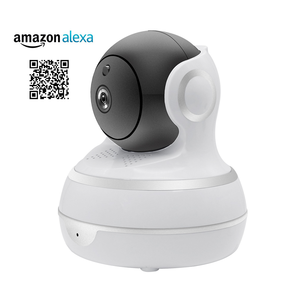 1080P IP Camera Wireless WiFi Network Security Camera Auto Tracking Smart Life Compatible with Alexa Echo