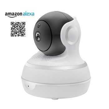 1080P IP Camera Wireless WiFi Network Security Camera Auto Tracking Smart Life Compatible with Alexa Echo Show Google Home - DISCOUNT ITEM  30 OFF Security & Protection