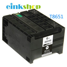 все цены на 1pc T8651 T8651XL Pigment Ink Compatible ink cartridge for EPSON WorkForce Pro WF-M5191 WF-M5190 WF-M5690