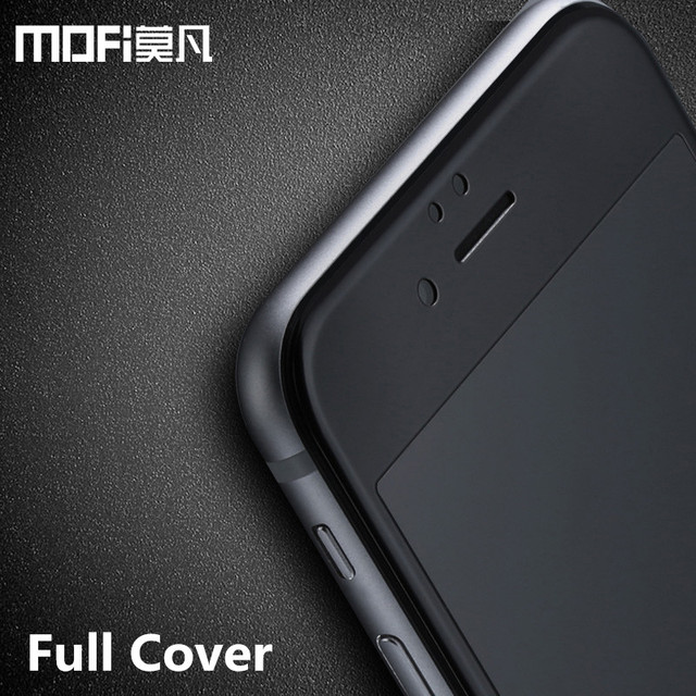 MOFi for iPhone 6s glass tempered full cover screen protector for iPhone6 iPhone 6 glass plus protective black film protection 2
