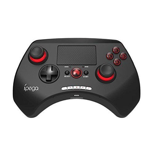 "AB14738 iPEGA PG-9028 Wireless Bluetooth Game Controller Gamepad Joystick 2.0"" Touch Pad for Android iOS Tablet PC TV Box"