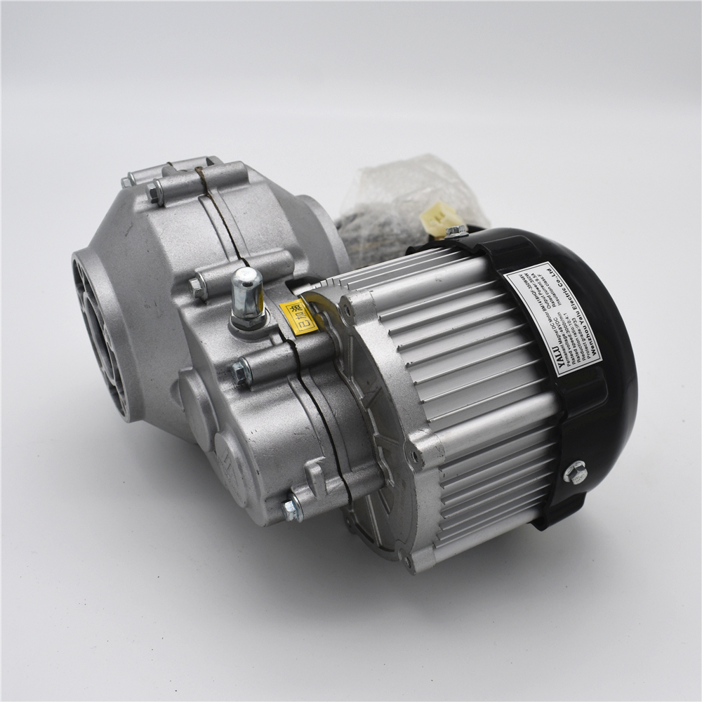 Electric vehicle rear axle brushless differential motor BM1418HQF(BLDC)350W36V/48V jd 90 rear middle metal axle with differential lock
